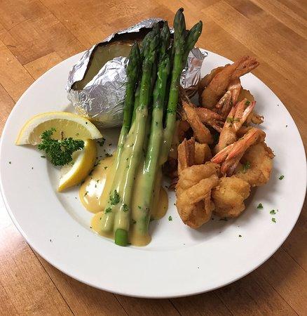 Aiken, Caroline du Sud : Shrimp Platter (DInner)