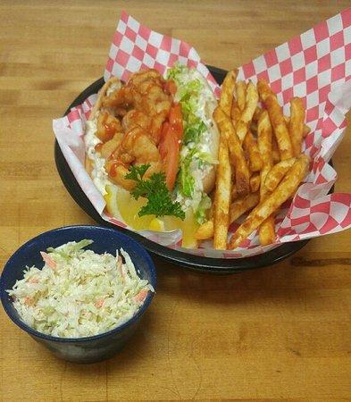 Aiken, Caroline du Sud : Shrimp Po' Boy