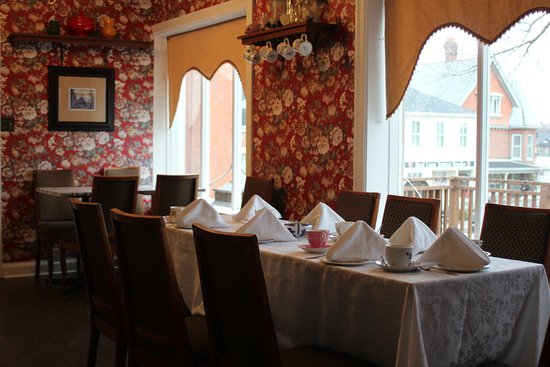 Port Hope, Canada: Set for private Tea Party