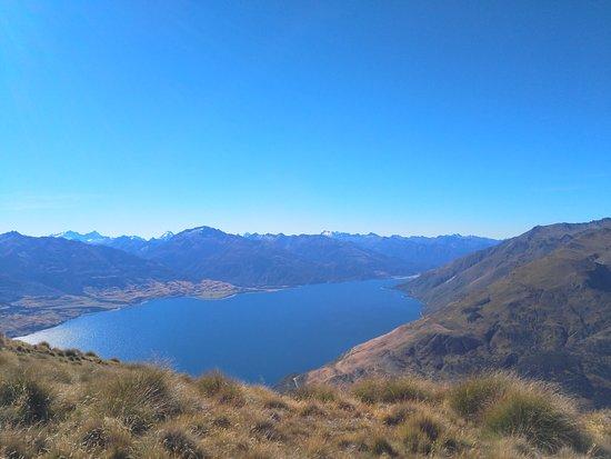 Lake Hawea, New Zealand: View of Lake Wanaka