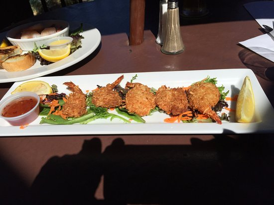 Coconut prawns, Crofton Hotel,1534 Joan Avenue, Crofton, British Columbia