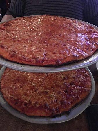 Orange, NJ: 2 awesome plain pizzas
