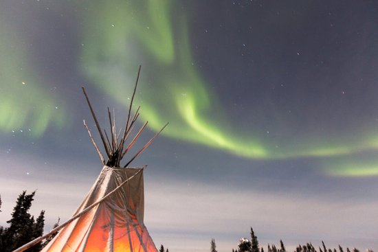 Blachford Lake Lodge: Aurora experience