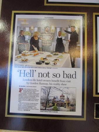 Loudonville, OH: Copper Mug Bar & Grille featured on Chef Ramsey Show 2016