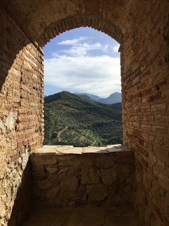 Zahara de la Sierra, Spain: 2nd floor window view