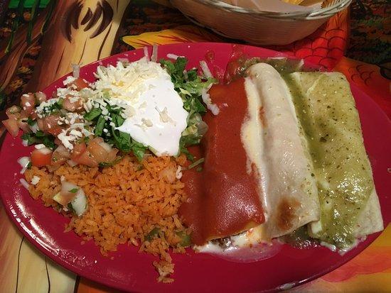 Mauston, WI: Flag Enchiladas