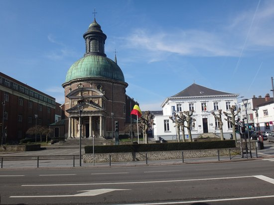 Waterloo, Bélgica: Widok z muzeum Wellingtona