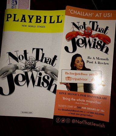 Not That Jewish Off-Broadway