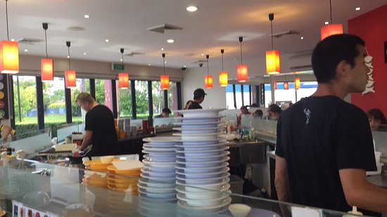 Eddie 39 s crazy fish sushi bar tripadvisor for Crazy fish restaurant
