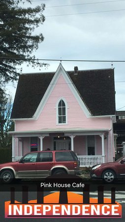 Independence, OR: The Pink House Cafe