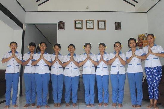 Manggis, Indonesia: Andre Spa Team