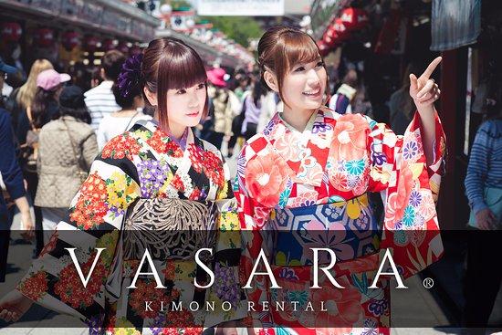 VASARA Kimono Rental , Senso-ji