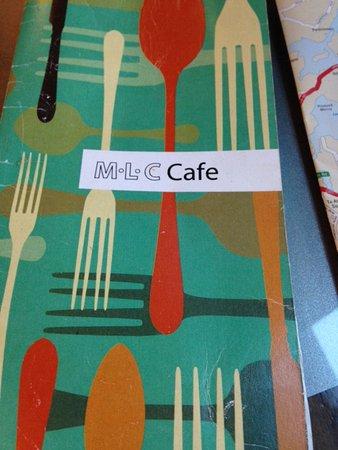 MLC Cafe & Bar: Menu cover