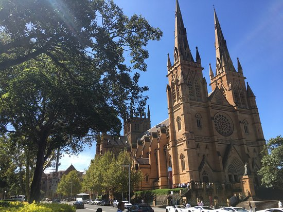 Photo of Historic Site St. Mary's Cathedral at St Mary's Road & Prince Albert Road, Sydney, Ne 2000, Australia