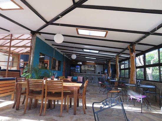 Playa Santo Domingo, Nicarágua: the restaurant lovely and casual