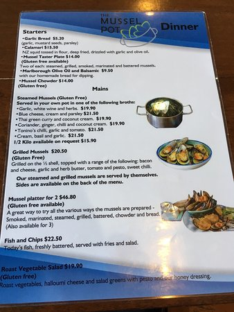 Havelock, New Zealand: Steamed mussels and grilled mussels~ 👍👍👍👍👍
