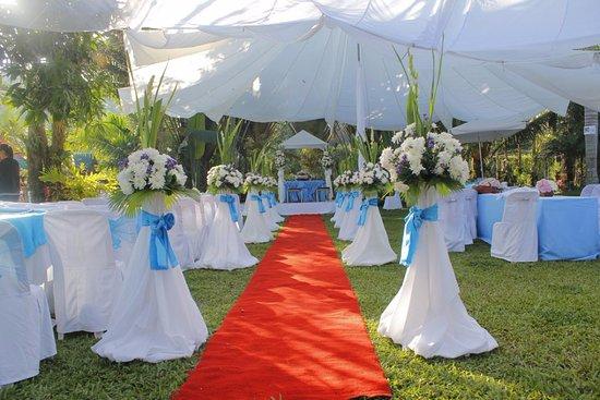 Grand Zion Garden Resort Hotel: Garden Wedding Set Up