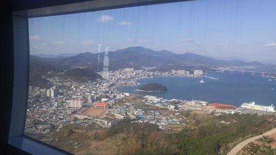 Wando-gun, كوريا الجنوبية: view in tower