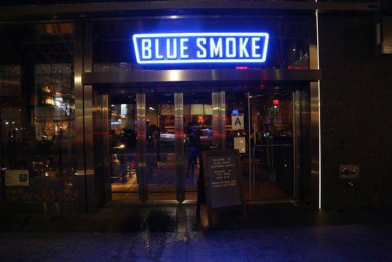 Photo of American Restaurant Blue Smoke at 255 Vesey Street, New York, NY 10282, United States