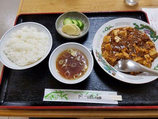 Fujioka, Japan: 麻婆豆腐定食