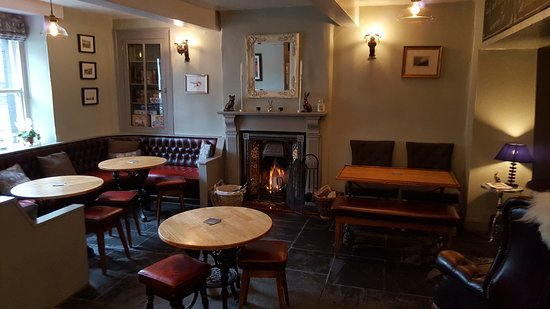 Bentham, UK: Examples of the sundial menu and pictures of the pub