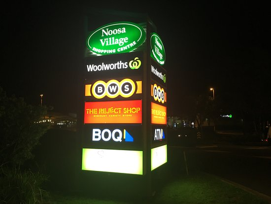 Noosaville, Australië: Noosa Village Shopping Centre - Queensland