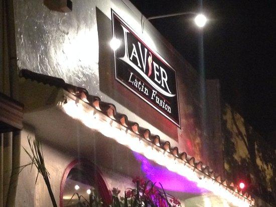 Outside LaVier Cuisine in San Rafael.