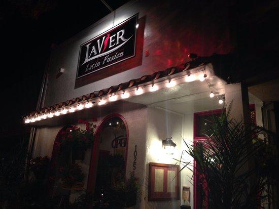 Exterior of LaVier Cuisine in San Rafael.
