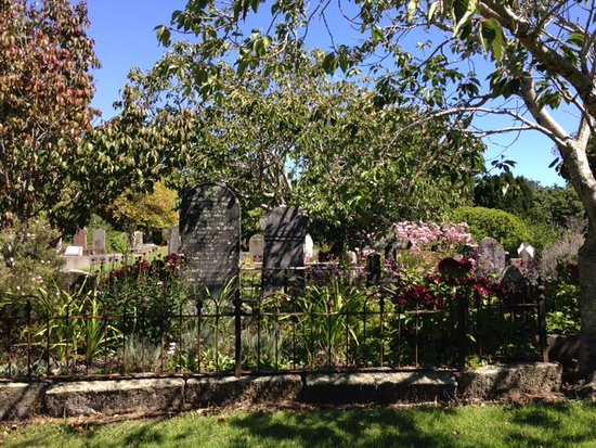 New Plymouth, New Zealand: Just one lovely corner of Te Henui cemetery