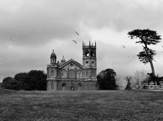 Buckingham, UK : beautiful in colour, but spooky in black and white