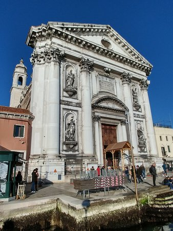 Chiesa dei Gesuati o Santa Maria del Rosario : Exterior