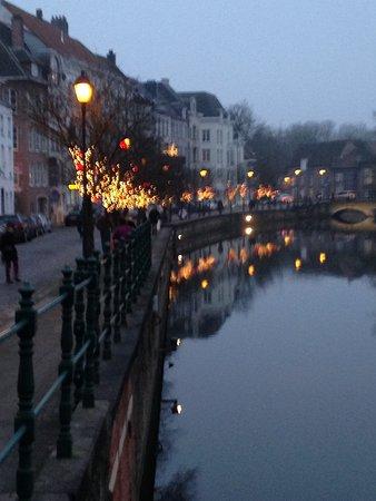 Lier, Bélgica: langs het water