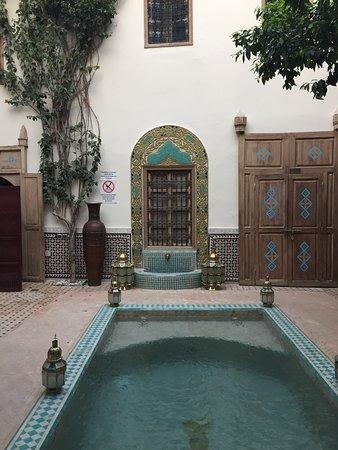 Patio Picture Of Riad Fleur D Orient Marrakech Tripadvisor