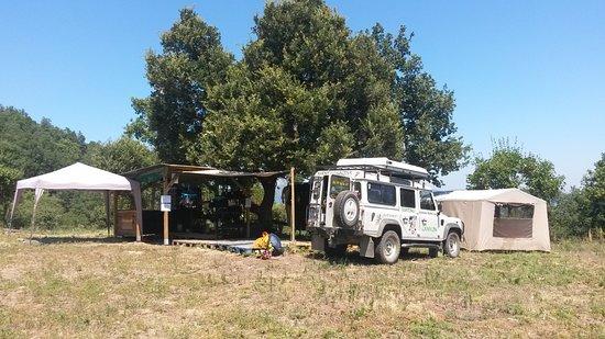 Prades, Francja: Le camp de base du Llech sur le Canigou