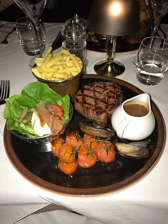 Shibden, UK: Fillet steak
