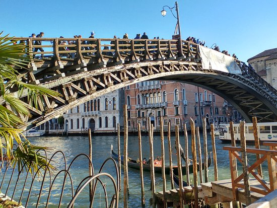 Photo of Bridge Ponte dell'Accademia at Venice, Italy