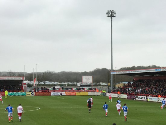 Stevenage, UK: Excellent Sightlines.