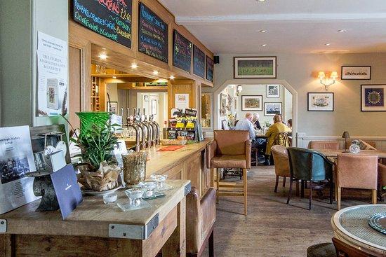 Oxborough, UK: Beddingfield Arms, bar