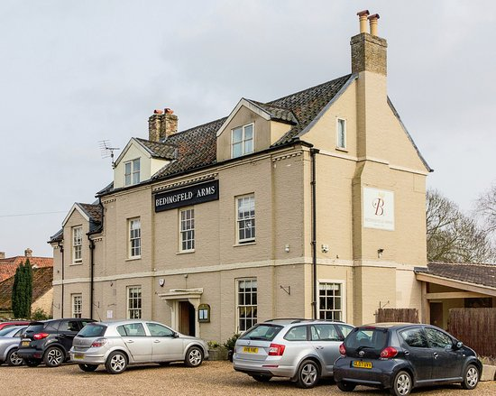 Oxborough, UK: Beddingfield Arms, exterior