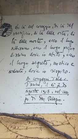 Due Carrare, Италия: Storia d'Italia con Gabriele D'Annunzio