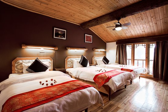 Yangshuo Mountain Retreat: Family 3 Bed room - same great rate as 2015!