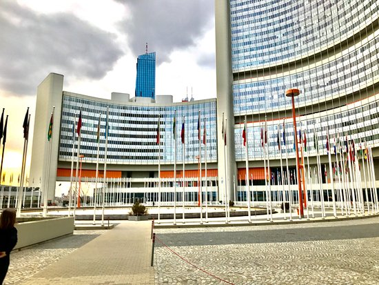 ‪United Nations in Vienna‬