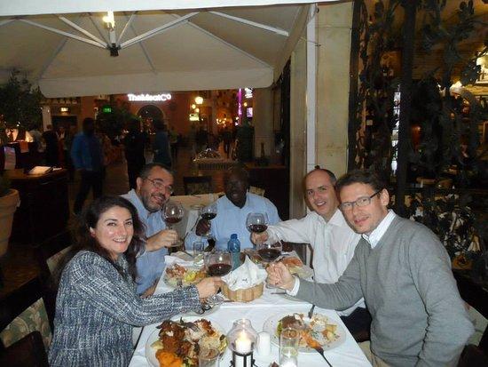 Fourways, Sudáfrica: Vuoi non celebrare in un Ristorante all' Italiana ?