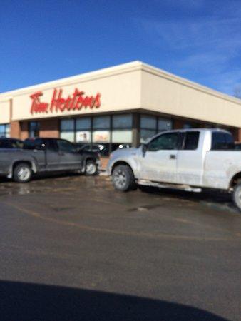 Tim hortons truck stop