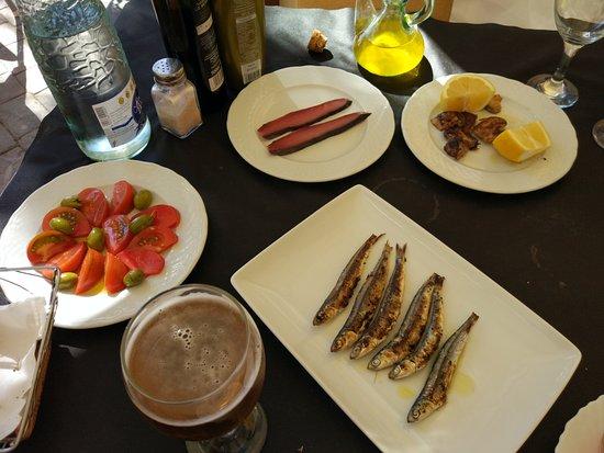 Varios platos caseros
