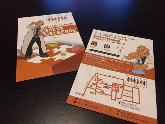Pijnacker, Paesi Bassi: De Gekke Geleerde flyers