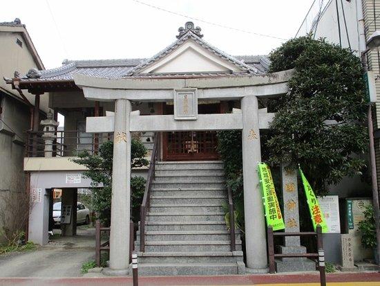 Ruins of Kamiya Sotan's Villa, Hokoku Shrine