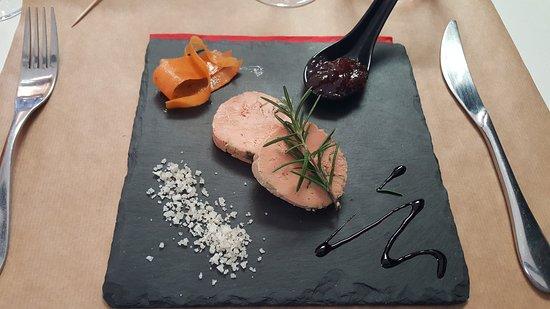 Auterive, Francia: Foie gras mi cuit et son confis de figues