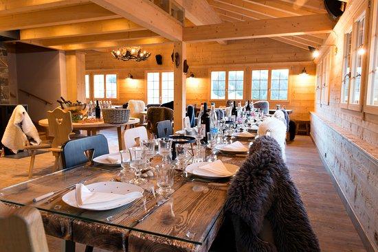 Les marmottes cuisine terroir en altitude champ ry for Champery restaurant