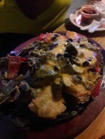 Norristown, Pensilvania: Nachos, huge portion